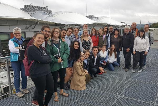 ZAE Bayern Erasmus-Teilnehmer besuchten das Energy Efficiency Center (EEC)