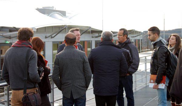 Eine Delegation aus Marokko zu Besuch am Energy Efficiency Center EEC