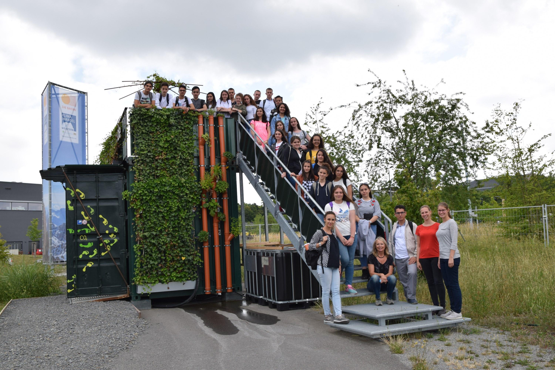 Klima-Umwelt-Energie und Klima-Forschungs-Station-Loyola-Gymnasium