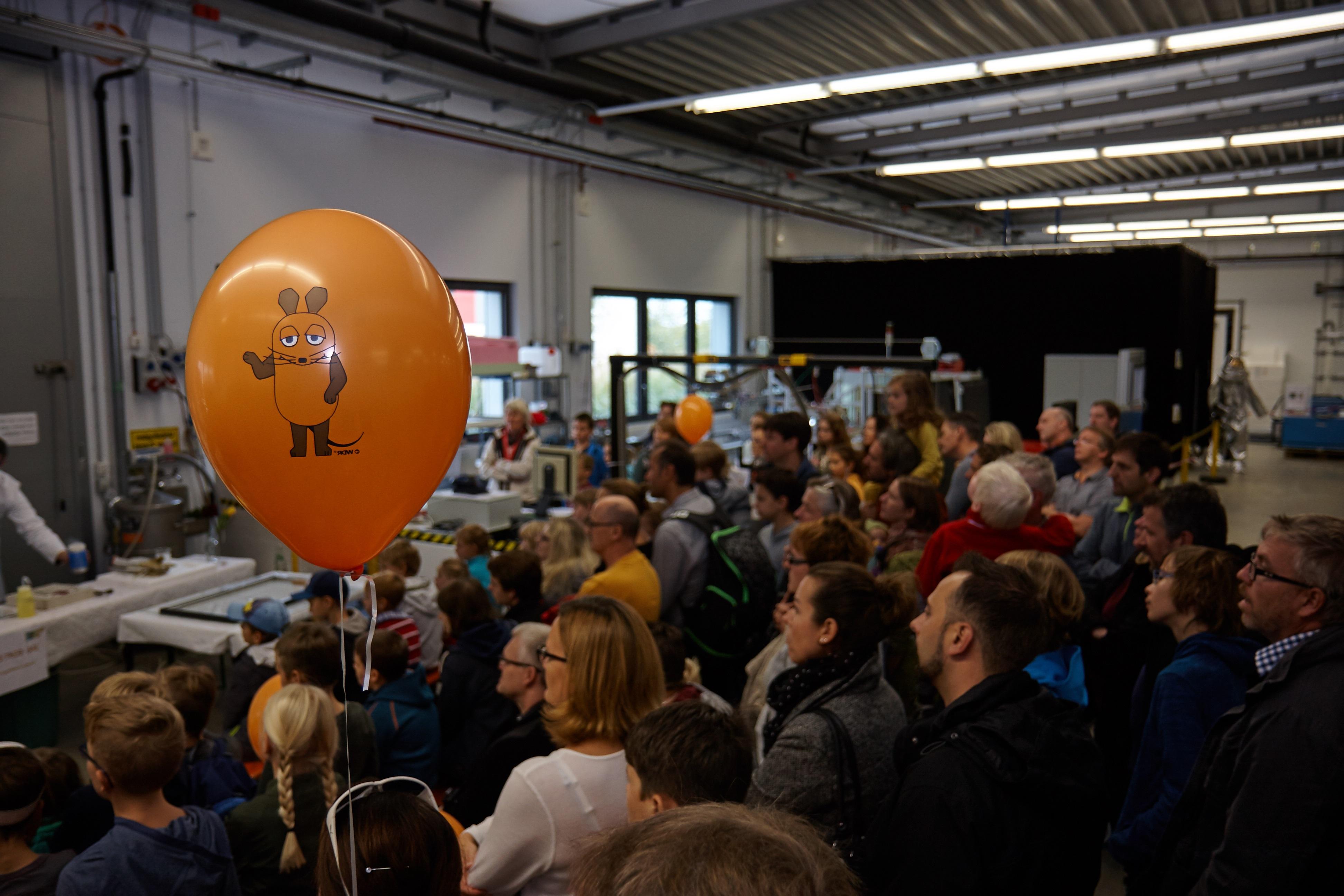 ZAE Bayern - Ein Blick hinter die Kulissen am Maus Türöffner-Tag