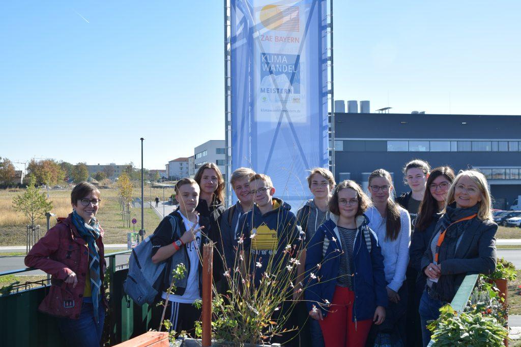 ZAE Bayern Besuch der Ausstellung und Klima-Forschungs-Station - Herder Gymnasiums aus Forchheim